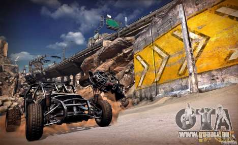 Menüs und laden Bildschirme RAGE für GTA San Andreas siebten Screenshot