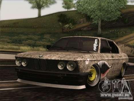 BMW E28 525E RatStyle pour GTA San Andreas laissé vue