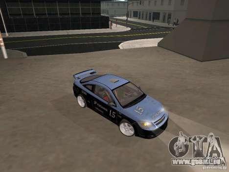 Chevrolet Cobalt Tuning pour GTA San Andreas vue arrière