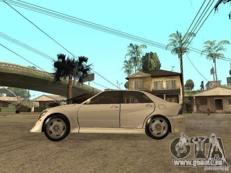 Lexus IS300 NFS Carbon pour GTA San Andreas laissé vue