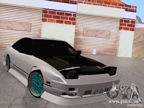 Nissan 240SX V2 pour GTA San Andreas sur la vue arrière gauche