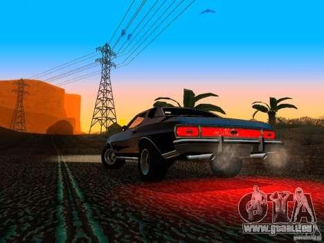 Ford Gran Torino 1975 pour GTA San Andreas vue intérieure