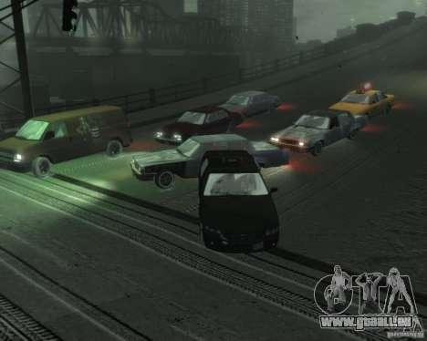 Winter Handling pour GTA 4 quatrième écran