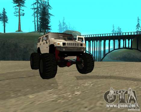 Hummer H2 MONSTER für GTA San Andreas