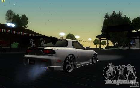 Mazda Rx7 C-West pour GTA San Andreas vue de droite
