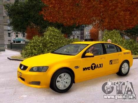 Holden NYC Taxi V.3.0 pour GTA 4 est un côté
