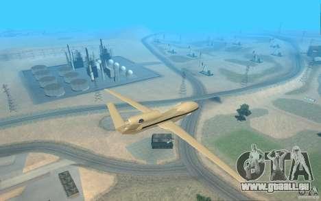 Grumman RQ-4 pour GTA San Andreas laissé vue