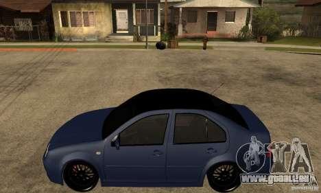 Volkswagen Bora für GTA San Andreas linke Ansicht