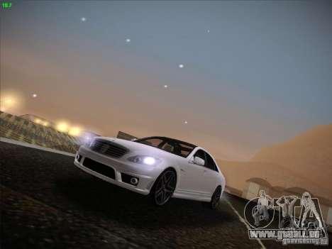 Mercedes-Benz S65 AMG V2.0 für GTA San Andreas