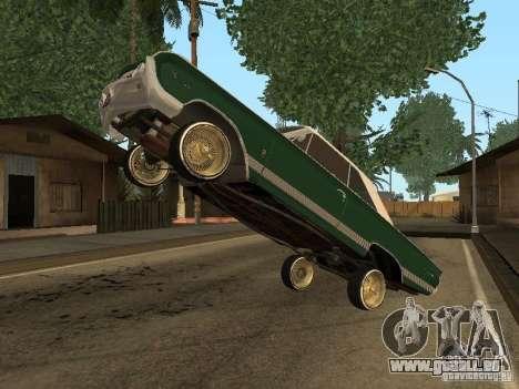 Mercury Park Lane Lowrider pour GTA San Andreas vue de droite
