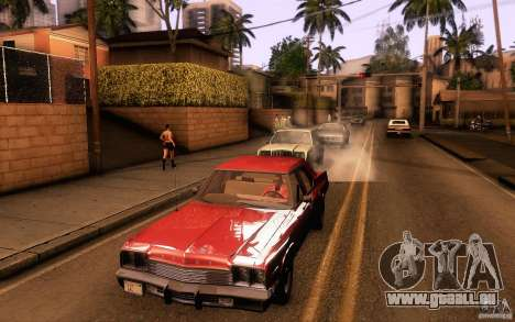 Dodge Monaco für GTA San Andreas zurück linke Ansicht