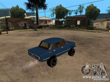 Moskvich 412-4 x 4 für GTA San Andreas rechten Ansicht
