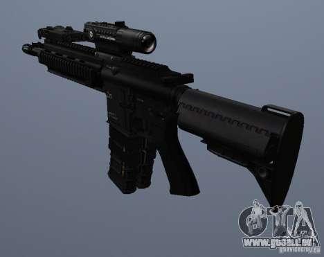 Carabine HK416 pour GTA San Andreas cinquième écran