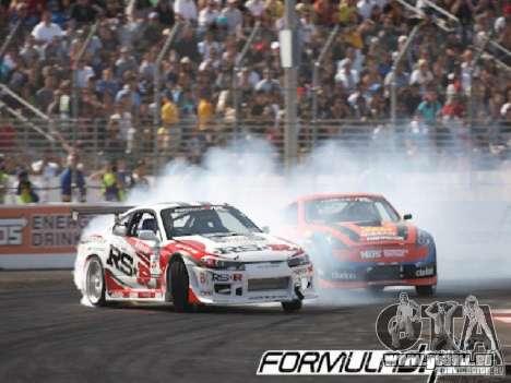 Écrans de chargement Formula Drift pour GTA San Andreas huitième écran