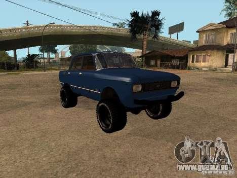 Moskvich 412-4 x 4 für GTA San Andreas