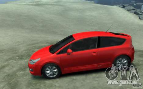 Citroen C4 2009 VTS Coupe v1 für GTA 4 linke Ansicht
