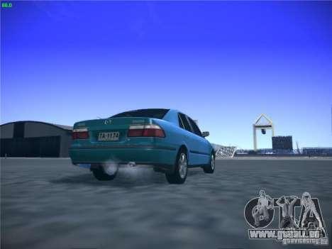 Mazda 626 GF 1999 pour GTA San Andreas vue intérieure