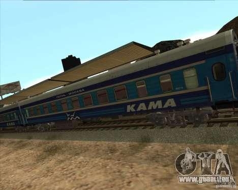 Auto KAMA für GTA San Andreas rechten Ansicht