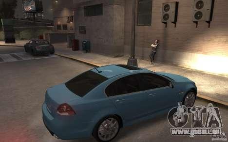 Pontiac G8 GXP für GTA 4 rechte Ansicht