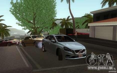 Volvo S60 2011 für GTA San Andreas rechten Ansicht