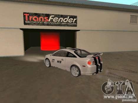Chevrolet Cobalt Tuning pour GTA San Andreas laissé vue