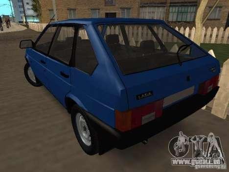 VAZ 2109 Drain pour GTA San Andreas laissé vue