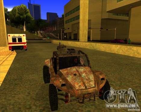 Desert Bandit pour GTA San Andreas vue de droite
