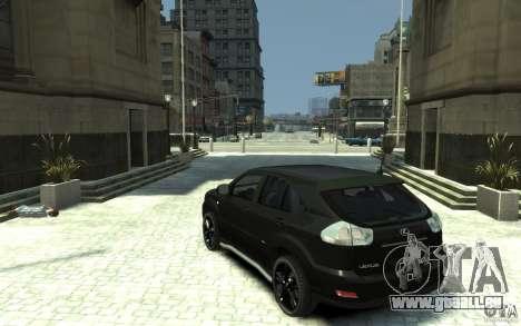Lexus RX 400h pour GTA 4 Vue arrière de la gauche