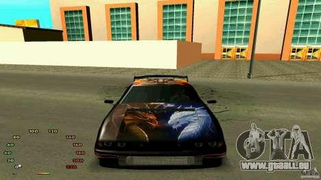 Elégie de fen1x pour GTA San Andreas vue de droite