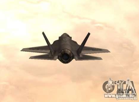 F-35 Eagle für GTA San Andreas linke Ansicht