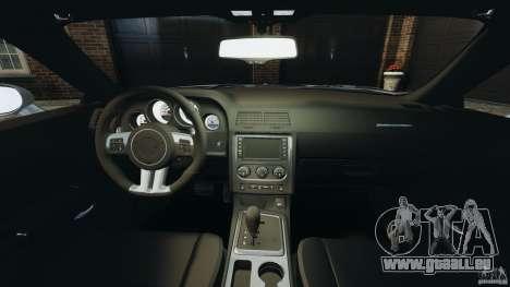 Dodge Challenger SRT8 392 2012 pour GTA 4 Vue arrière