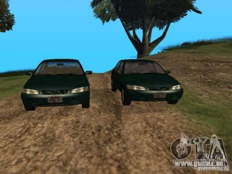 Toyota Camry Arabian Tuning für GTA San Andreas Rückansicht
