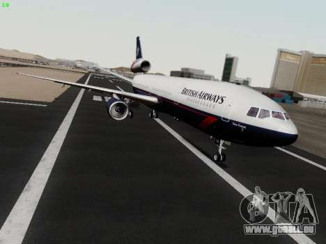 McDonell Douglas DC-10-30 British Airways für GTA San Andreas linke Ansicht