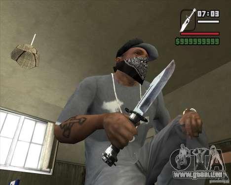 Le couteau de la stalker no 4 pour GTA San Andreas