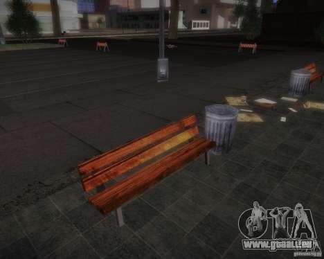Nouveaux modèles de loisirs pour GTA San Andreas quatrième écran