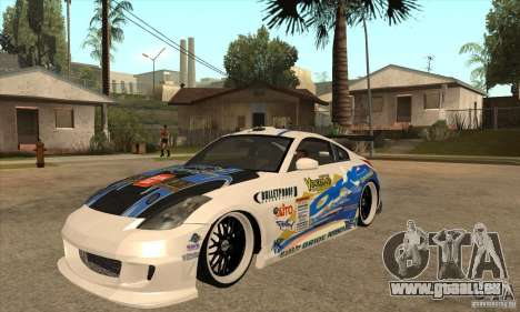 Nissan Z350 - Tuning pour GTA San Andreas