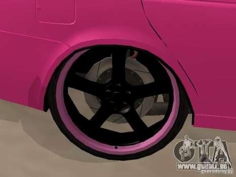 Lada Priora Emo pour GTA San Andreas vue arrière