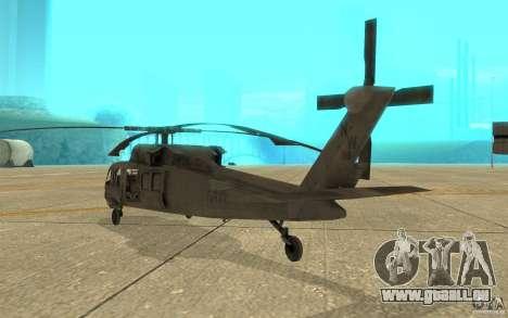 UH-80 pour GTA San Andreas vue de droite