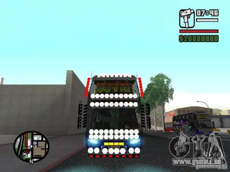 Neoplan pour GTA San Andreas laissé vue