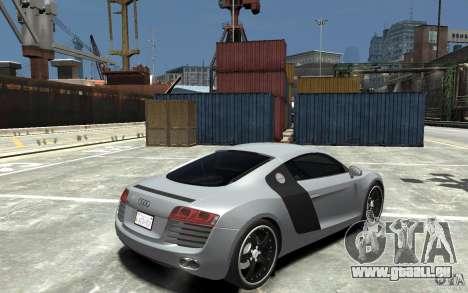 Audi R8 2008 pour GTA 4 est un droit