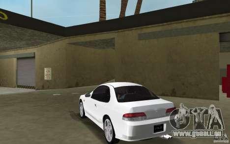 Honda Prelude 2.2i pour GTA Vice City sur la vue arrière gauche