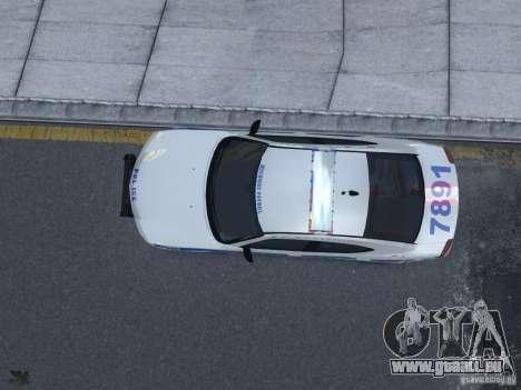 Dodge Charger NYPD für GTA 4 Innenansicht