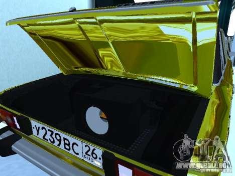 VAZ 2106 (or) pour GTA San Andreas vue de droite