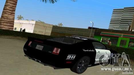 Saleen S281 Barricade 2007 für GTA Vice City linke Ansicht