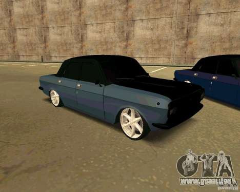 GAZ 24 pour GTA San Andreas vue de droite