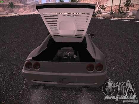 Ferrari F355 Targa für GTA San Andreas Rückansicht
