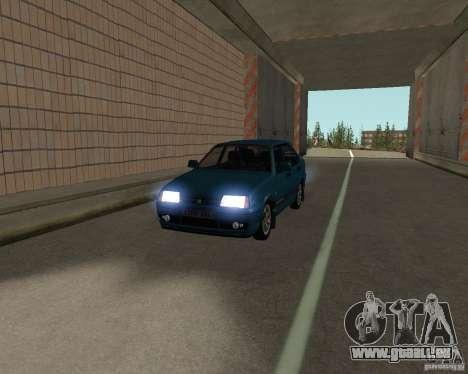 VAZ 21099 Suite pour GTA San Andreas vue intérieure