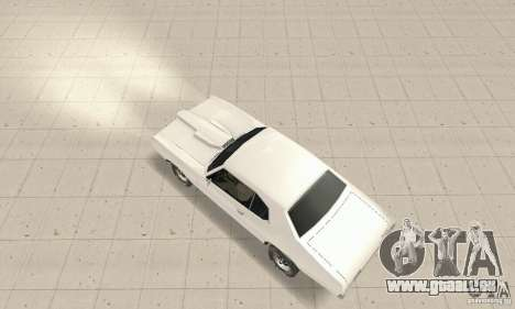Pontiac GTO 1969 stock für GTA San Andreas zurück linke Ansicht