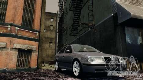 Skoda Octavia v.1.0 für GTA 4 linke Ansicht
