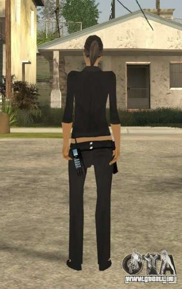 Peau de jeune fille DD pour GTA San Andreas troisième écran